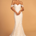WEDDING DRESS IVORY CHAMPAGNE GL2591