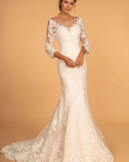 WEDDING DRESS IVORY CREAM GL2592