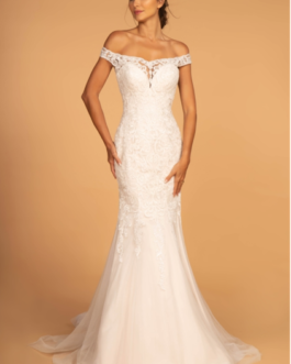 WEDDING DRESS IVORY CREAM 2593
