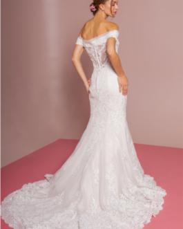 WEDDING DRESS IVORY CREAM 2594