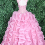 QUINCEANERA DRESS DUSTY PINK