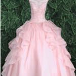 QUINCEANERA DRESS BLUSH PINK