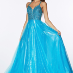PROM TURQUOISE DRESS CR835