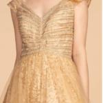 PROM DRESS GOLD ELIZABETH K. GL2526