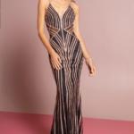 PROM DRESS BLACK BY GLORIA GL2633